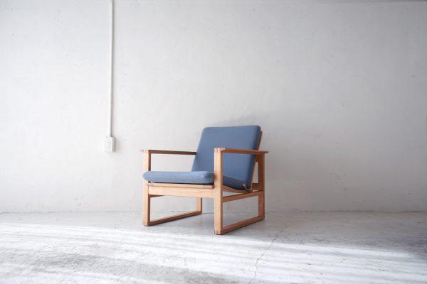 北欧ヴィンテージ家具のBorge Mogensen(ボーエ・モーエンセン)デザインによるアームチェア「モデル 2254」